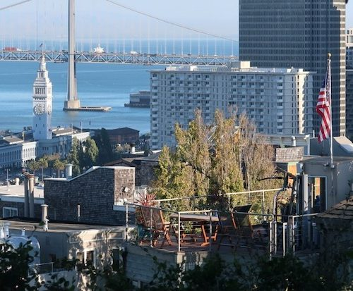 Overlooking San Francisco Bay