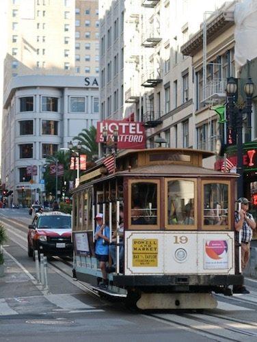 Powell Street Cable Car San Franscisco