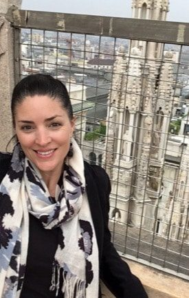 Image of CORR Travel founder in Milan, Italy