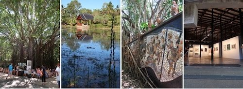 Cairns Botanical Gardens Tanks Art Centre Australia