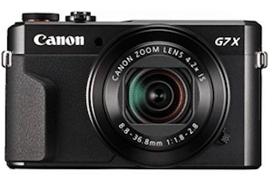 Canon PowerShot Digital G7 X Mark II camera