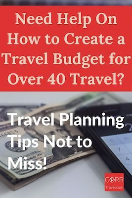 How to Create a Travel Budget Pinterest image