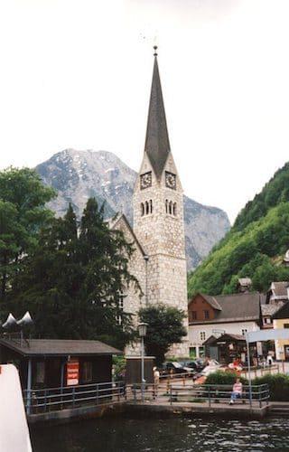 Town of Hallstatt Austria
