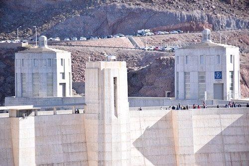 Hoover Dam clock towers Arizona