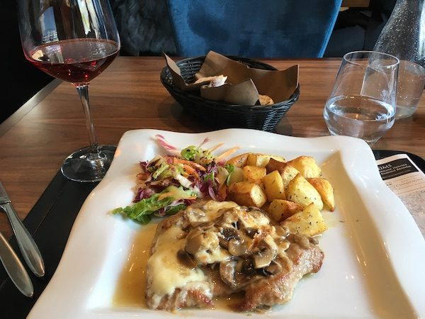 Il Gusto lunch meal Reims France
