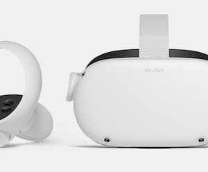 Oculus Quest 2 Virtual Reality to travel without traveling