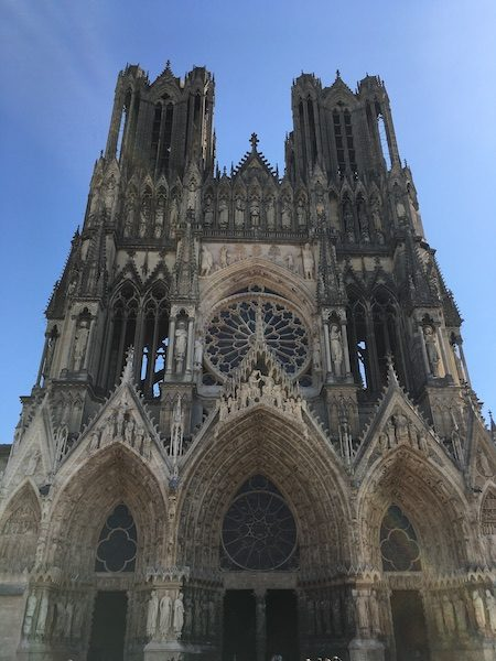 Reims Cathedral - Champagne Day Trip Itinerary from Paris without a car