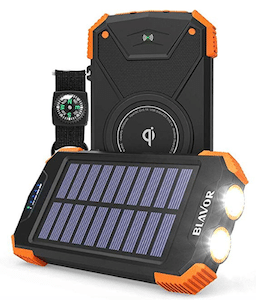 Blavor Solar Power Bank - an eco-friendly product for travel