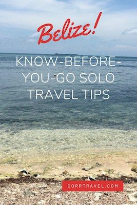 Belize Know Before You Go: 7 MUST Travel Tips Pinterest image