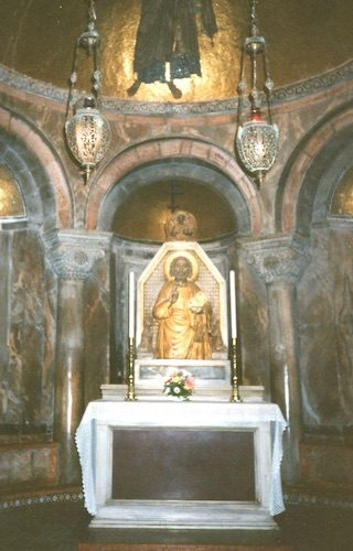 San Marco Basilica Altar Venice Italy