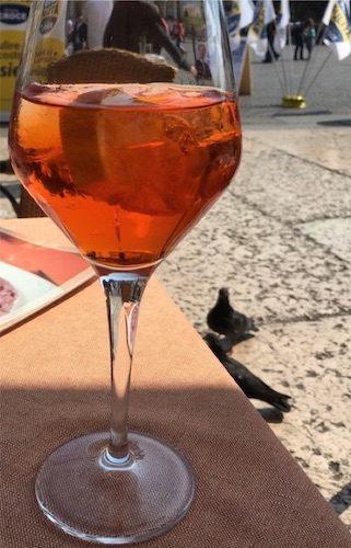 Venetian Spritz drink Venice