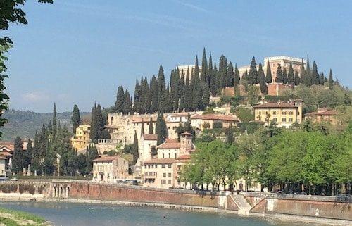 Verona Italy on the river