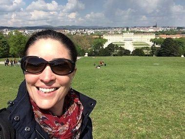 CORR Travel founder at Schonbrunn Palace Vienna Austria